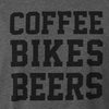 Coffee Bikes Beer Women's Tank - SFCycle - 2 cycling t shirts