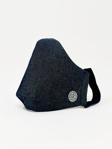 Denim Reflective Logo Mask