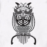 Owl Raglan - Women - SFCycle - 3 bike t shirts