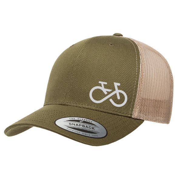 Infinity Bike Trucker Hat 6 Panel