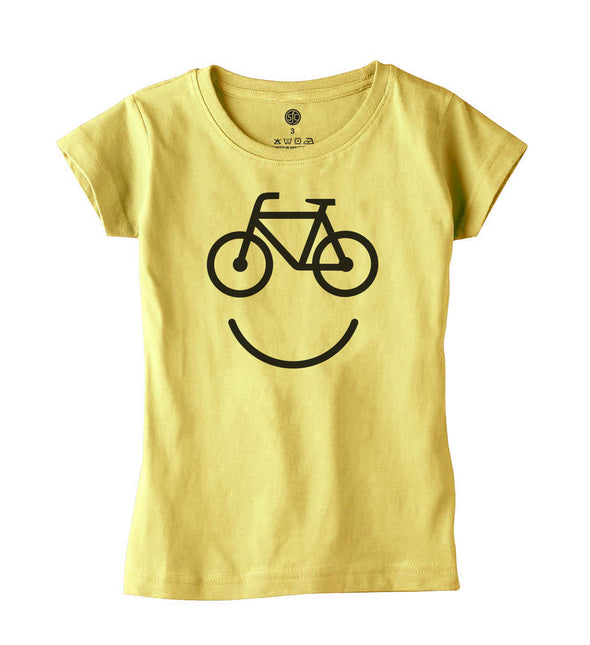 Happy Bike Girls Tee