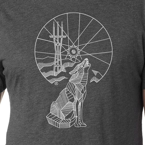 Wolf Sutro - SFCycle - 1 cycling t shirt