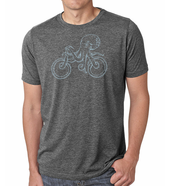 octopus bike t-shirts