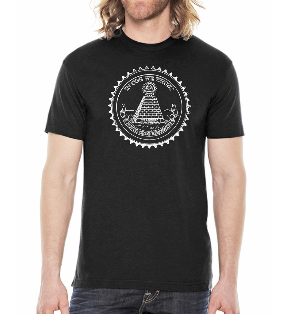 In Cog We Trust - SFCycle - 1 bike t-shirts
