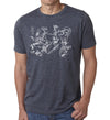 Exploded Bike - SFCycle - 1 bike t shirts