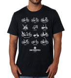 Bike District Men's - SFCycle - cycling tshirts 1