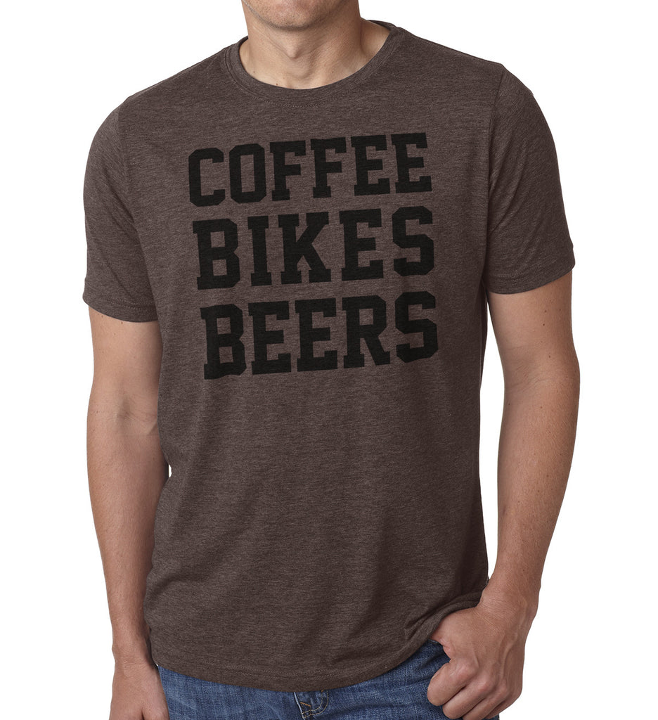 Coffee Bikes Beer - SFCycle - 1 Cycling t shirts