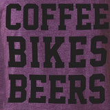 Coffee Bikes Beer Women's Tank - SFCycle - 3 cycling tshirts