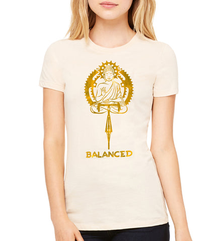 Buddha Balance Women's - SFCycle - bike t-shirts 1