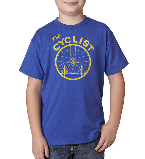 The Cyclist Youth - SFCycle - 1 cycling t shirt
