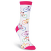 Bright Bikes Women's Crew Socks