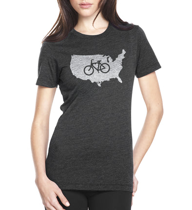 LP-SFC-USA-W - SFCycle - 1 bike t-shirts