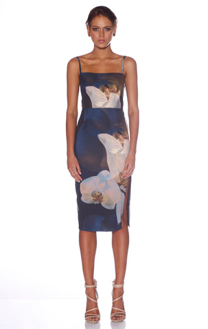 Pasduchas Split Midi Dress