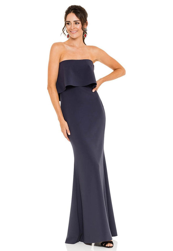 Likely NYC Driggs Gown - Navy for rent - Her Wardrobe Dress Rental