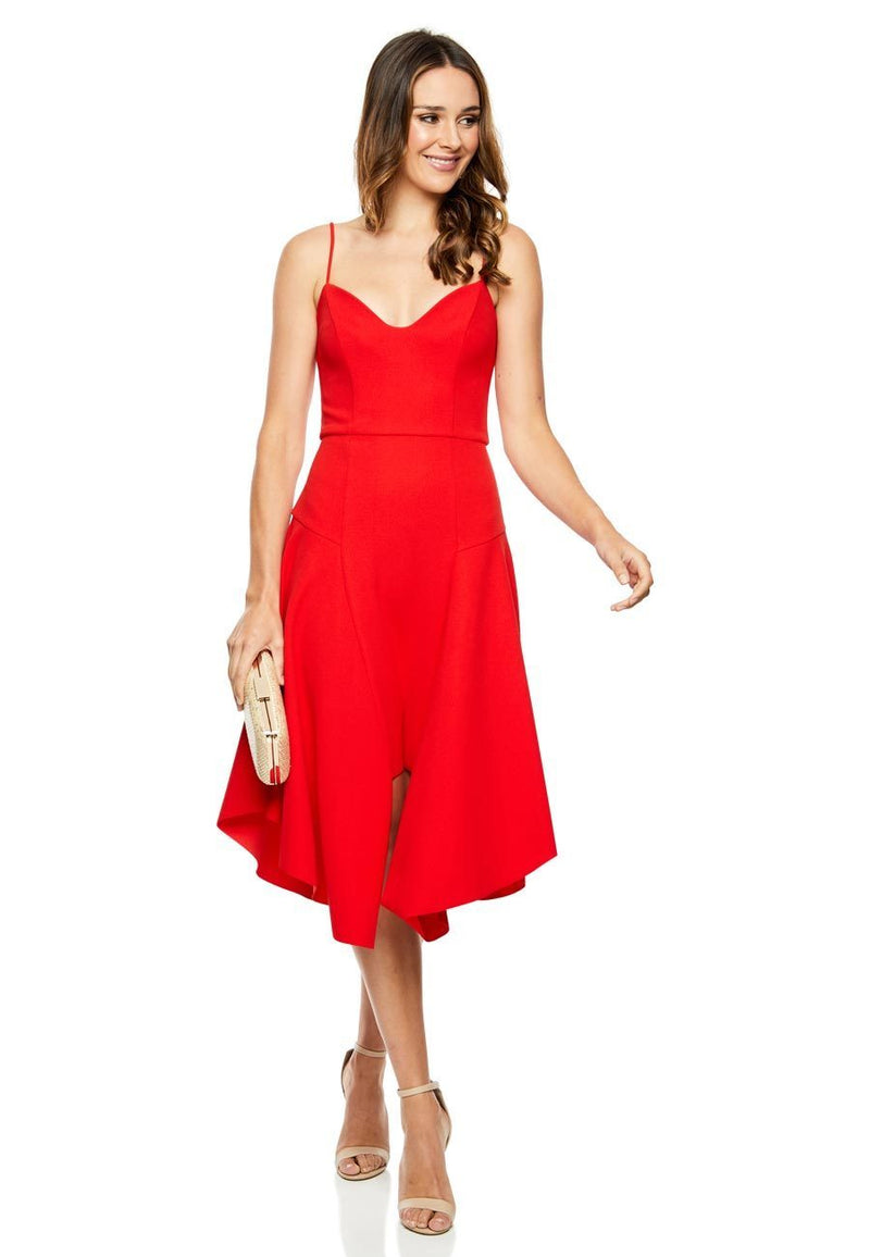 Elliatt Petal Dress for rent - Her Wardrobe Dress Rental