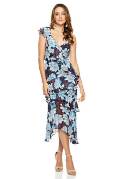Talulah Lush Tropics Midi for rent - Her Wardrobe Dress Rental