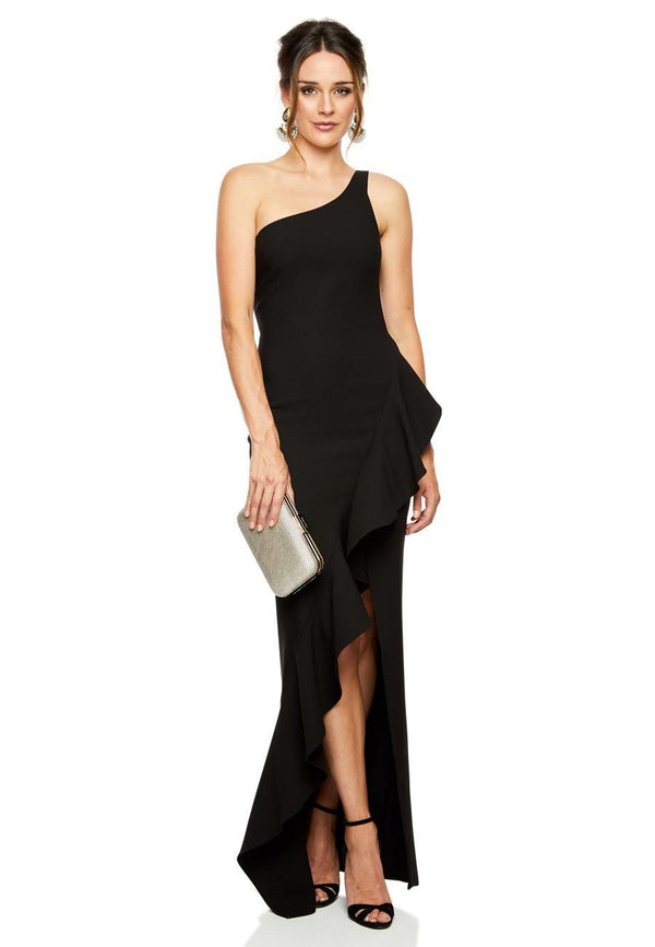 Likely NYC Marielle Gown - Black for rent - Her Wardrobe Dress Rental