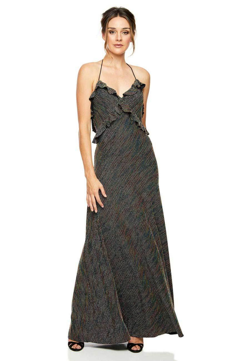 Jill Jill Stuart Metallic Maxi for rent - Her Wardrobe Dress Rental