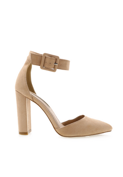 Hart Pump - Blush Suede