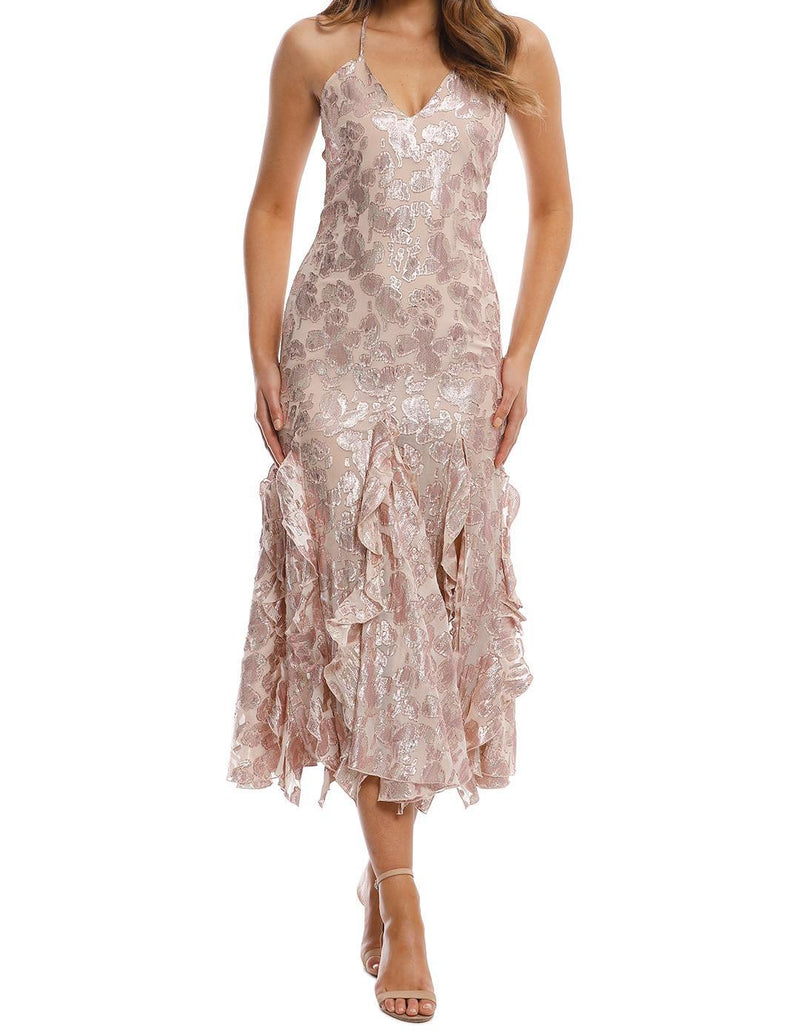 Best Of You Dress - Champagne