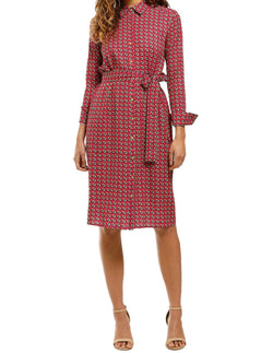 Cecilia Button Down Shirt Dress