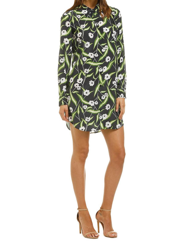 Brett Floral Print Mini Dress