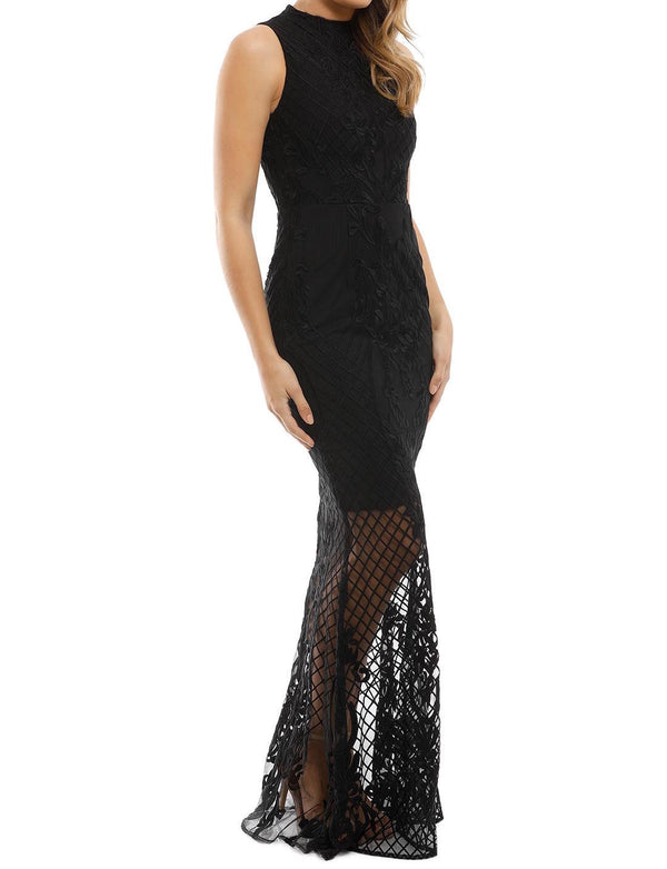 Ignite Passion Gown - Black