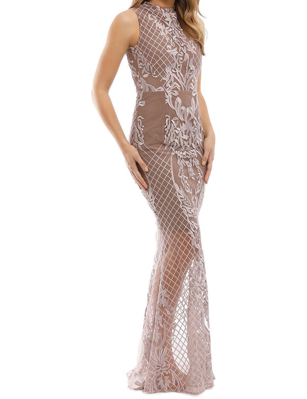 Ignite Passion Gown - Nude