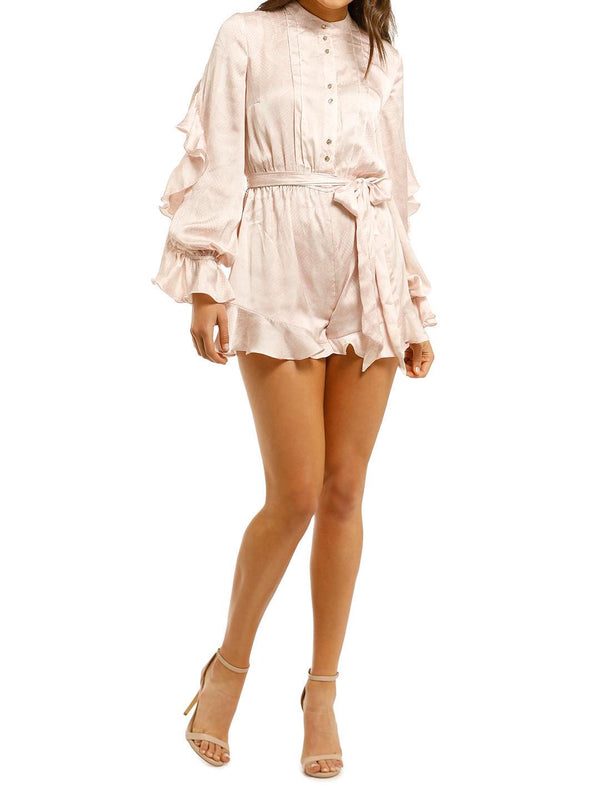 Pearl LS Playsuit