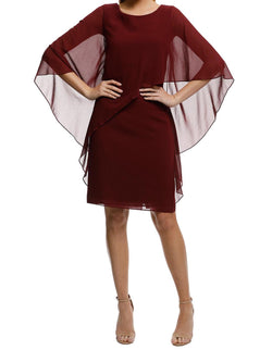 Ciana Cocktail Dress Wine