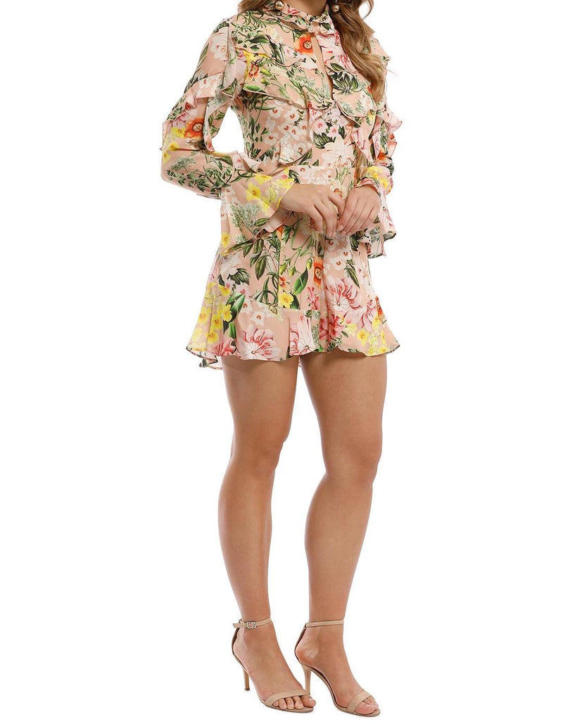 Aveline Ruffle Layer Playsuit