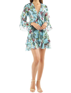 Mayflower Ruffle Mini Dress