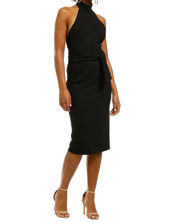 Aurelia High Midi Dress