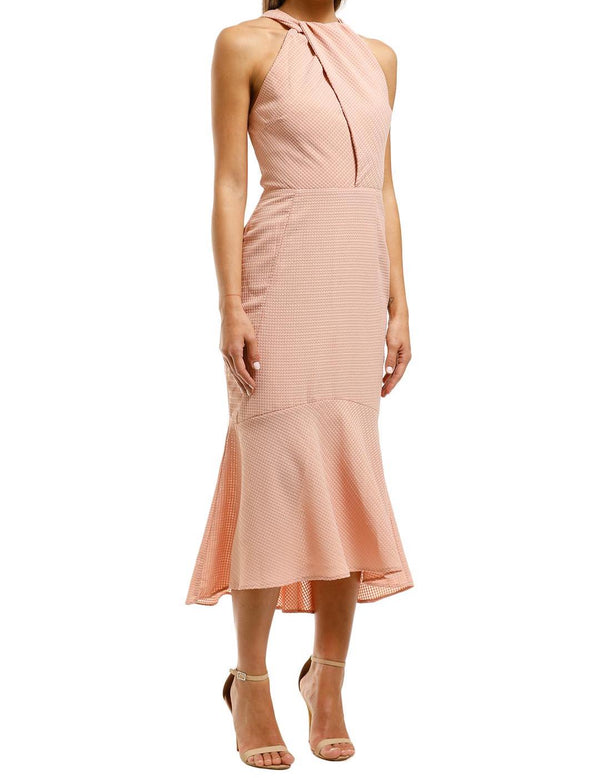Ambrosia Halter Midi Dress