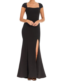 Adriatic Open Back Gown