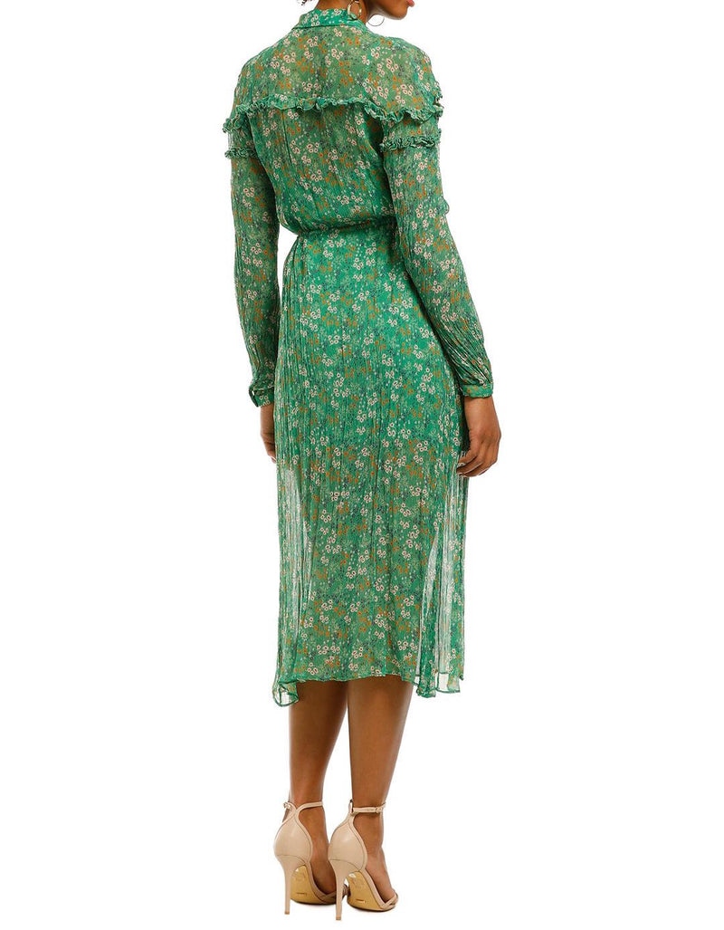 Jade Valentine LS Maxi Dress