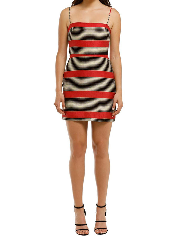 Parallels Mini Dress