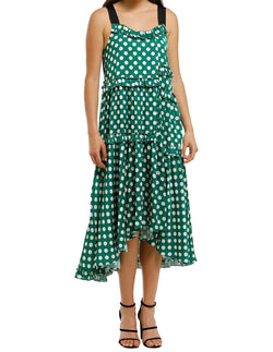 Pleat Wave Dress