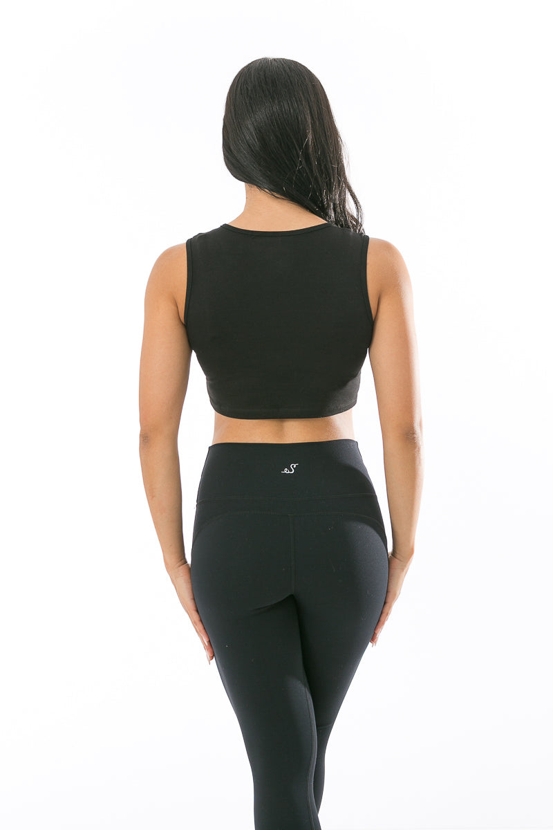 Sleek Shadow Clipped Top