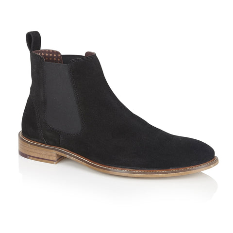 London Brogues - Hamilton Suede Chelsea Boot