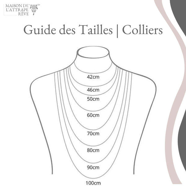 Guide des Tailles | Colliers