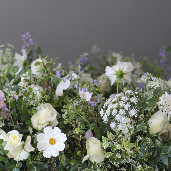 Wedding flowers frothy