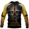 Night Templar A Child Of God Lion King Cross Hoodie 3D All over print