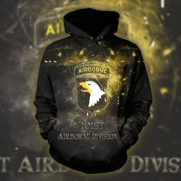 Amazing Airborne 101st Hoodie 3D All Over Print
