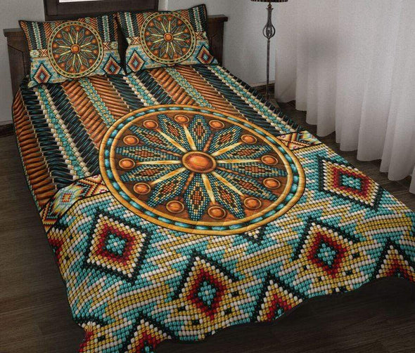 Native American Rostte Duvet Cover Bedding Set