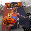 Basketball Energy Personalized Duvet Cover Bedding Set with Your Name And Number #L