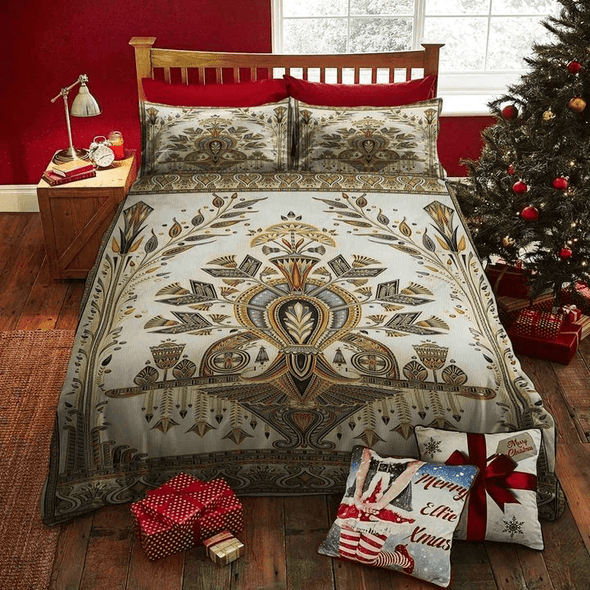 Ancient Egypt Pattern Duvet Cover Bedding Set