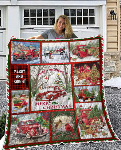 Have Yourself A Merry Christmas Quilt Blanket
