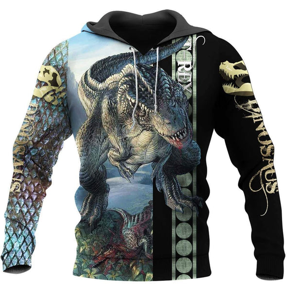 Honor Dinosaur In The Jurassic Hoodie 3D All over print