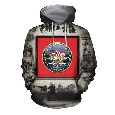 Naval Special Warfare Hoodie 3D All Over Print